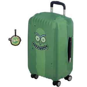 Rick and Morty Luggage Tag Suitcase Sleeve Set